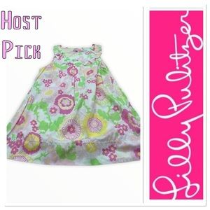 🔥 Host Pick 🔥 Lilly Pulitzer girls floral dress